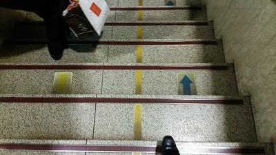 博多駅階段20140926
