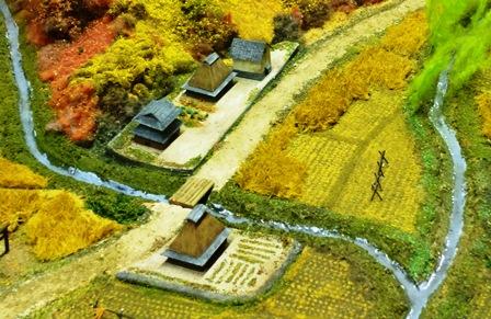 石内村ジオラマ畑