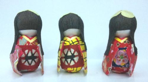 三つ子人形