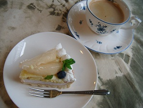 美容講座ケーキ