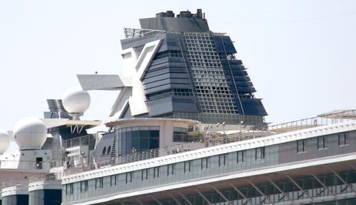 CELEBRITY MILLENNIUM神戸港初入港-4