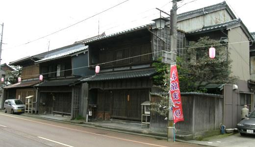 小松市の伝統的町家-1