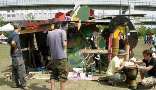 アジサイマーケット@みなとのもり公園-1