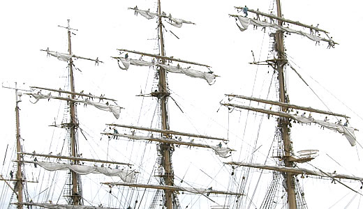 練習帆船 日本丸 セイルドリル(2)-2