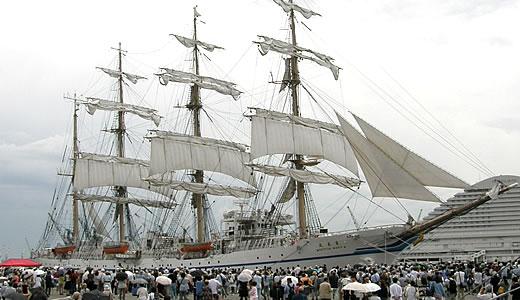 練習帆船 日本丸 セイルドリル(2)-4