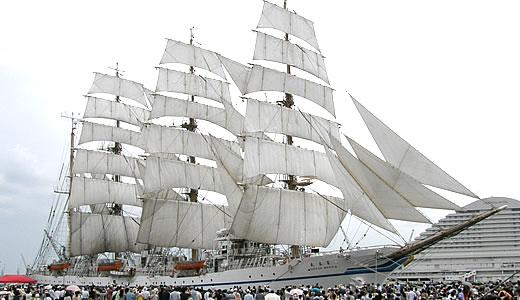 練習帆船 日本丸 セイルドリル(2)-5