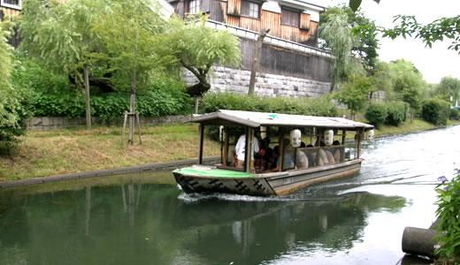 京都伏見十石船