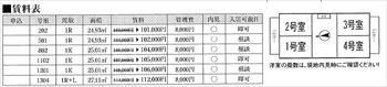 レジディア大井町賃料表_R (2)