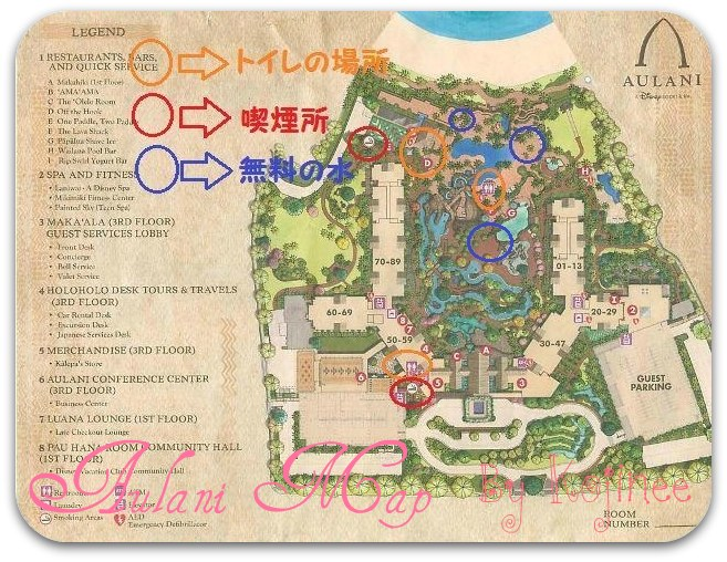Aulani Map Smork