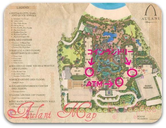 Aulani Map Coin