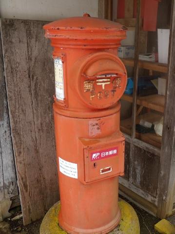 正式名称は郵便差出箱