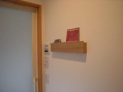無印良品壁に付けられる家具 長押 完成2