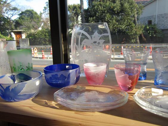 茅ヶ崎たい焼き ガラス