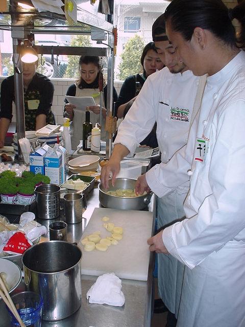 ラチェッタ 料理教室