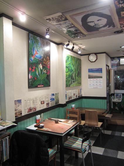 カフェキヨール 店内