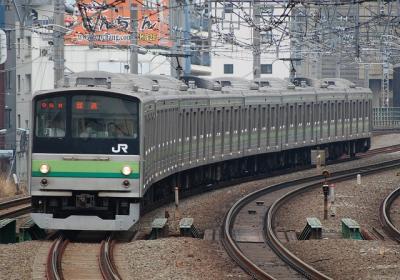 横浜線205系入場回送
