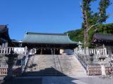 山麓 吉備津彦神社