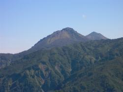 焼山と火打山