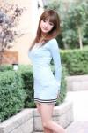 韓国人グラビアアイドル写真 セクシー ワンピース ミニスカート カメラ目線 巨乳 太もも 整形美人 高画質エロかわいい画像136