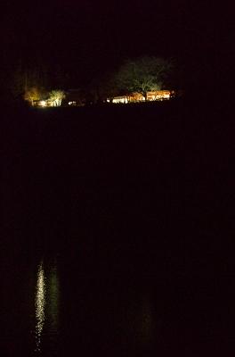対岸からの夜景