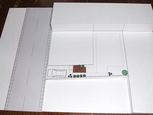 120419 敷地模型