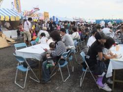 産業祭の風景