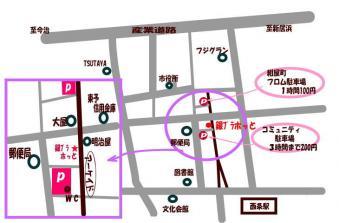 canvas商店街地図