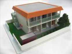 ひだまり荘模型1