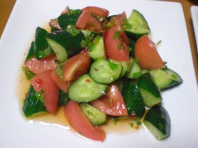 アジア風サラダ