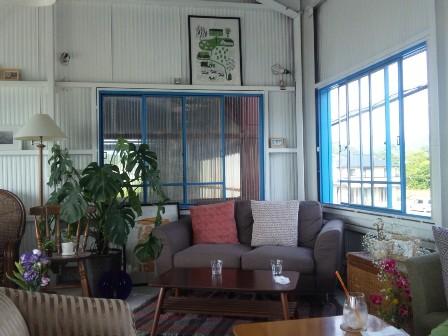 アラモアナサンセットカフェ・店内2