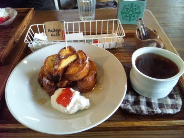 ハシゴカフェのフレンチトースト1