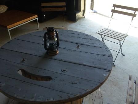 ボートカフェ・室内席