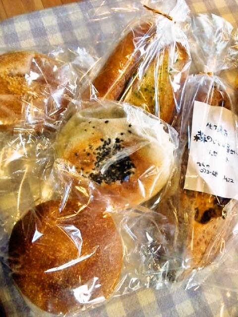 森のパン屋さんのパン