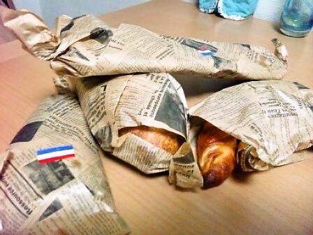 ジャンリュックのパン
