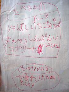 娘の覚え書き