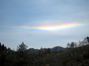 水平の虹1