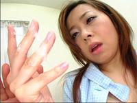 熟女の手コキ