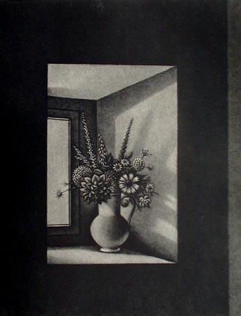 長谷川潔 窓辺の花瓶.jpg