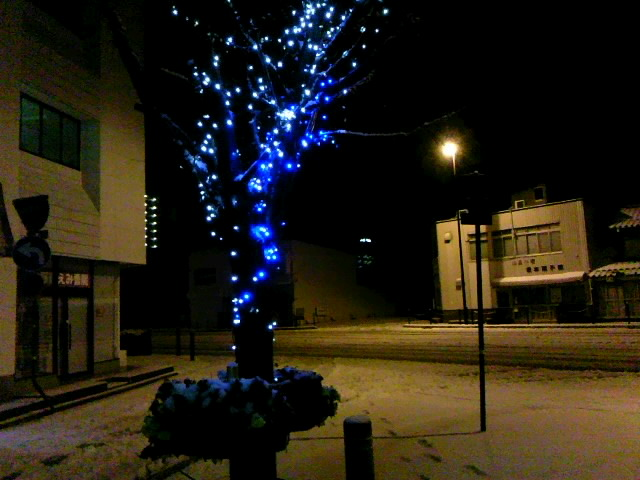 march snow & illumination