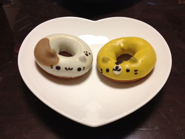 にゃんこドーナツ