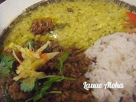 チキン+豆カレー