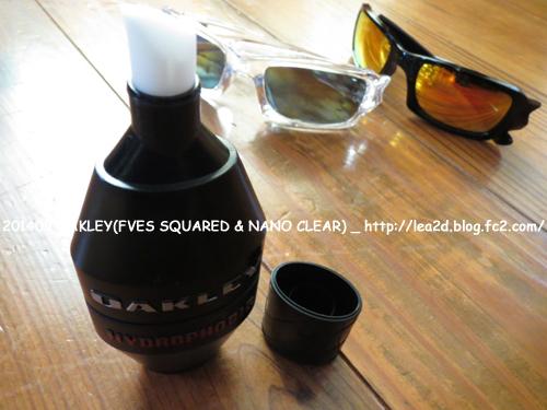 201409 OAKLEY(FVES SQUARED & NANO CLEAR)オークリー ファイブススクエアード & 撥水コーティング剤