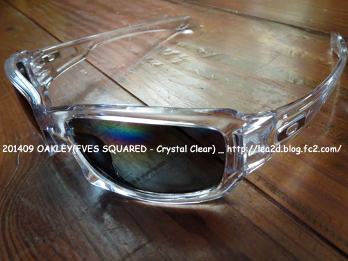 201409 OAKLEY(FVES SQUARED - Crystal Clear)ファイブススクエアード クリア