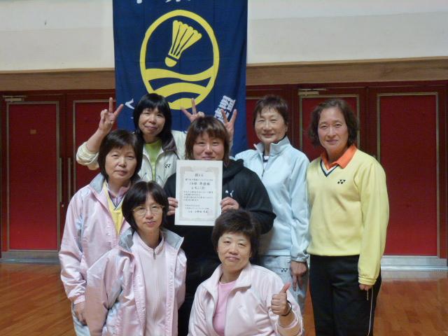 2012春季リーグBチーム14部準優勝