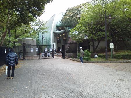 慰霊祭会場入口
