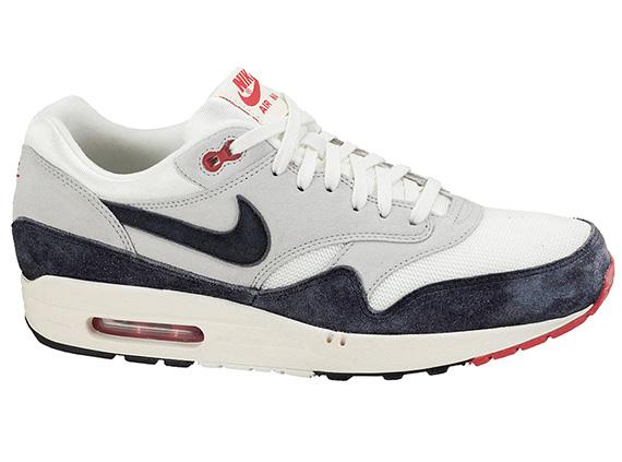Nike Air Max 1 OG – White – Navy – Red