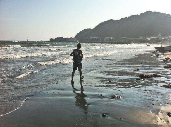 iPhone浜辺2