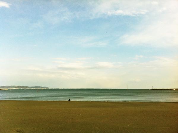 iPhone浜辺