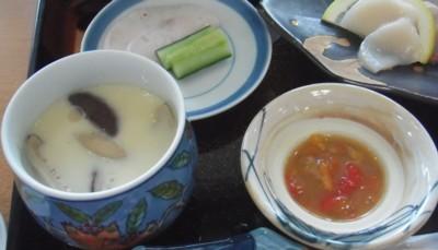 夕食 バクライ 茶碗蒸し