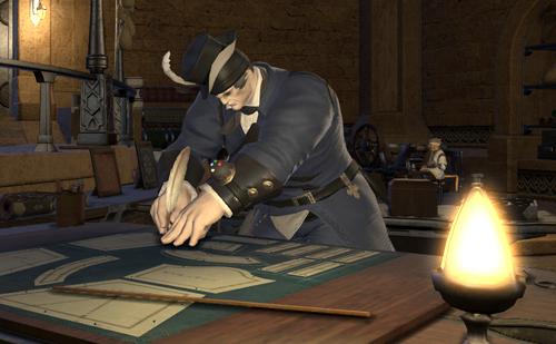 裁縫ギルドのマスターにお願い